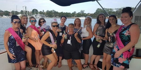 Amber Hens party
