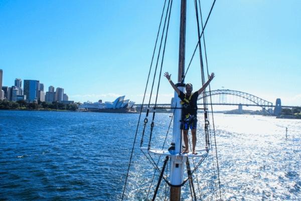 tallship-mast climb 2