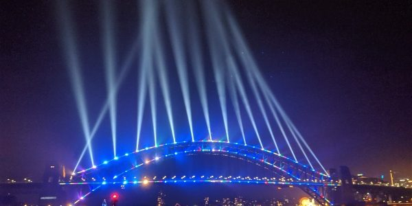 Sydney Harbour Bridge Vivid Festival